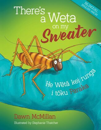 There's a Weta on my Sweater