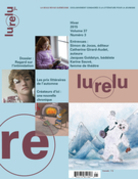 Lurelu. Vol. 37 No. 3, Hiver 2015