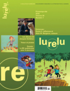 Lurelu. Vol. 39 No. 1, Printemps-Été 2016