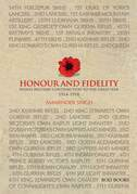 Honour and Fidelity: India's Military Contribution to the Great War 1914-1918