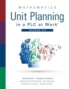 Mathematics Unit Planning in a PLC at Work®, Grades 6 - 8