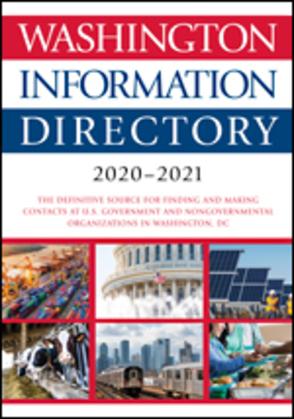 Washington Information Directory 2020-2021