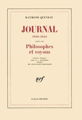 Journal (1939-1940) / Philosophes et voyous