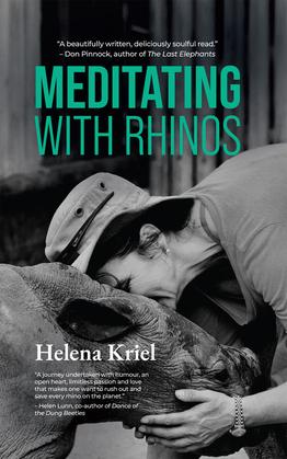 Meditating with Rhinos