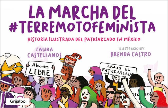 La marcha del #TerremotoFeminista