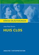 Huis clos (Geschlossene Gesellschaft) von Jean-Paul Sartre.