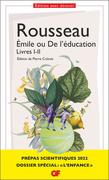 """Émile ou De l'éducation. Dossier spécial """"L'Enfance"""" - Prépas scientifiques 2021-2022 Édition prescrite"""