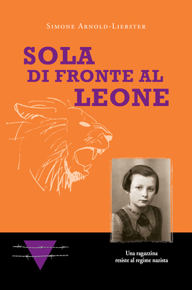Sola di fronte al Leone
