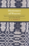 Dictionary Of Weaves - Part I.