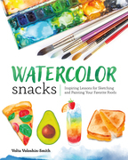Watercolor Snacks