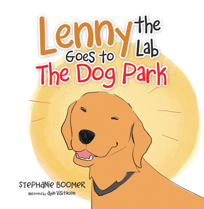 Lenny the Lab Goes to the Dog Park