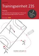Eine einfache Kreuzbewegung im Rückraum mit Weiterspielmöglichkeiten trainieren (TE 235)