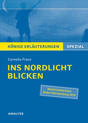 Ins Nordlicht blicken von Cornelia Franz. Königs Erläuterungen Spezial.