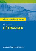 L'Étranger - Der Fremde. Königs Erläuterungen.