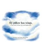 My pillow has wings.