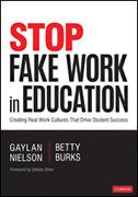 Stop Fake Work in Education