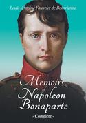 Memoirs of Napoleon Bonaparte - Complete