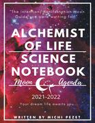 Alchemist of Life Science Notebook Moon Agenda