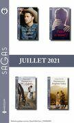 Pack mensuel Sagas : 13 romans (Juillet 2021)