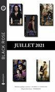 Pack mensuel Black Rose : 10 romans (Juillet 2021)