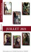 Pack mensuel Les Historiques : 6 romans (Juillet 2021)
