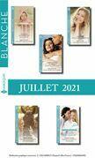 Pack mensuel Blanche : 10 romans (Juillet 2021)