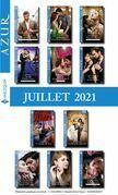 Pack mensuel Azur : 11 romans + 1 gratuit (Juillet 2021)