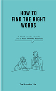 How to Find the Right Words