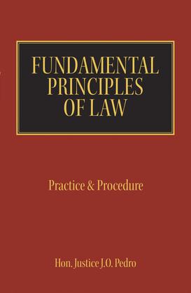 Fundamental Principles of Law