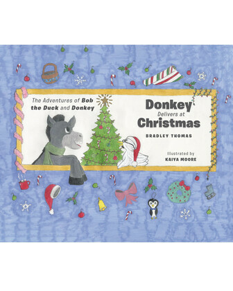 Donkey Delivers at Christmas