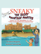 Sneaky The Hairy Mountain Monster Goes To The Bahamas To The First Ever Monster Convention