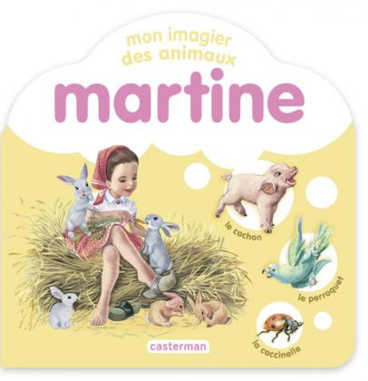 Mon imagier des animaux Martine