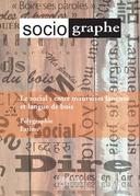 Le Sociographe 74. Le social : entre mauvaises langues et langue de bois