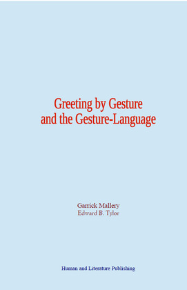 Greeting by Gesture and the Gesture-Language