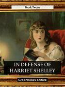 In Defense of Harriet Shelley
