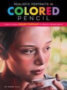 Realistic Portraits in Colored Pencil