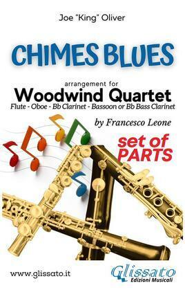 Chimes Blues - Woodwind Quartet (parts)
