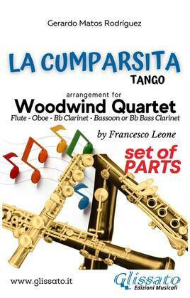 La Cumparsita - Woodwind Quartet (parts)