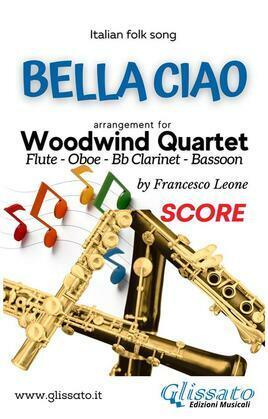 Bella Ciao - Woodwind Quartet (score)