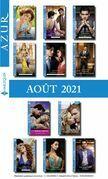 Pack mensuel Azur : 11 romans + 1 gratuit (Août 2021)