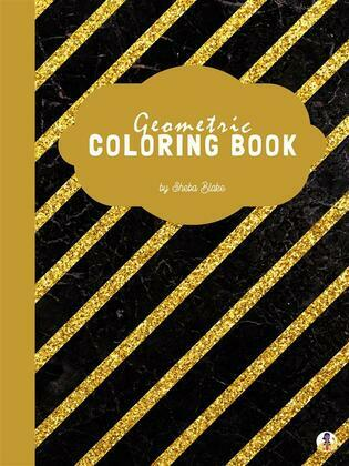 Geometric Patterns Coloring Book for Adults (Printable Version)