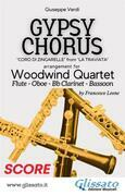 Gypsy Chorus - Woodwind Quartet (score)