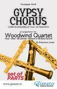 Gypsy Chorus - Woodwind Quartet (parts)