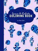 Space-N-Robots Coloring Book for Ages 3+ (Printable Version)