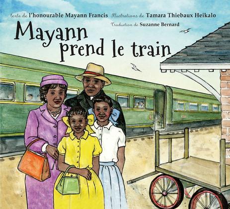 Mayann prend le train