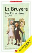Les Caractères, Livres V-X (BAC 2022)