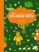 ABC's and Animals Coloring Book for Kids Ages 3+ (Printable Version)