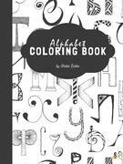 Geometric Alphabet Coloring Book for Kids Ages 6+ (Printable Version)