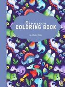 Dinosaur Coloring Book for Kids Ages 6+ (Printable Version)
