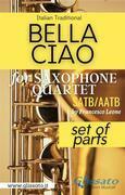 Bella Ciao - Saxophone Quartet (parts)